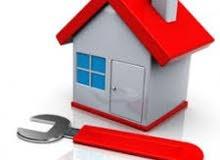صيانة وترميم وإستكمال جميع المباني والسكنية والتجارية