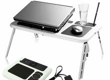 Laptop Table with Cooling Fan for bed and sofa