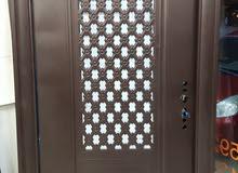 أبواب فولاذية والمنيوم ونحاس عالواتساب فقط