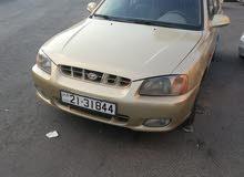 Hyundai Verna 2001 For sale - Gold color
