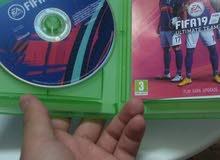 للبيع لعبة فيفا 19 لجهاز Xbox