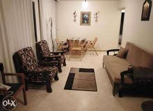 شقة مفروشة للايجار100متر قرب المعونة والقرية الزكية بتقسيم الاسلكى بالمعادى الجديدة