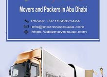 Movers and packers in Abu Dhabi  Contact 0556821424 A to Z movers
