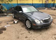 سياره مرسديس الفئه e350 موديل 2008 نظيف وعلى المشتري الفحص المطلوب فيها 8000$ لل