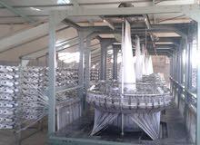 مصنع اكياس منسوجة ( شوال ) لتعبات الدقيق و الاعلاف و الشعير و الارز للبيع