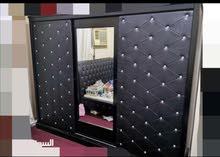 للبيع أثاث غرفة نوم مع ثلاجة مع مكيفين
