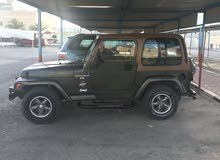 Green Jeep Wrangler 1997 for sale