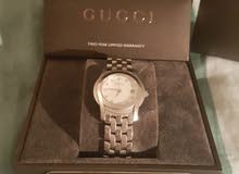 Ladies Gucci Watch with Diamond Markers and Mother of Pearl