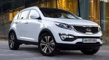 For rent 2019 White Sportage