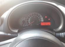 سيارة نيسان مكرا موديل 2012 للبيع في ابو ظبي بحالة جيدة