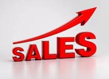 مطلوب متخصص مبيعات في المنتجات الخدميه