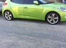 Hyundai Veloster 2012 For sale - Green color