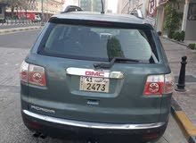 GMC Acadia 2009 For sale - Green color