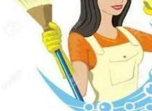 يوجد لدينا   عاملات وخدمات منازل يومي أسبوعي شهري