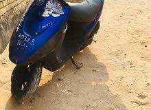 Used Suzuki motorbike made in 2017 for sale