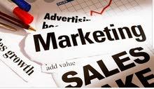 وظيفة تسويق ومبيعات
