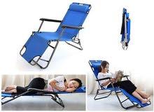 كرسي و سرير للرحلات قابل للطي ، متعدد الاستخدام
