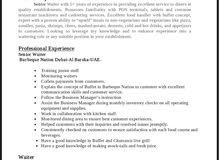 Job Seeking. Posotion Waiter/Barista (F$B)
