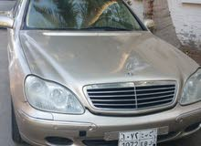 MERCEDES BENZ S500 2000 EXCELLIENT FOR SALE