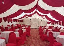 خيام راقية للإيجار بإدارة عمانية