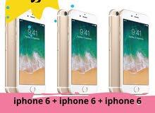 iPhone 6 + iPhone 6 + iPhone 6