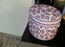 كمة عمانية خياطة يد العقدة