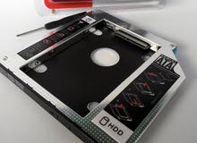 تطوير اللاب توب ليصبح ثنائي الهارديسك HDD CADDY