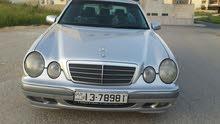 مرسيدس E200 موديل 2001 وارد غرغور .