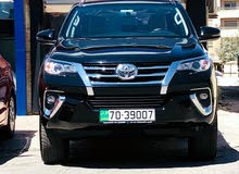 For rent 2018 Toyota Fortuner