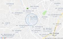 شقه للايجار / الزرقاء / حي شاكر للعرسان فقط