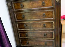 pre loved wooden chest of drawers
