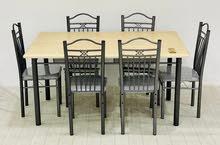 طاولات طعام خشب 4 و 6كرسي