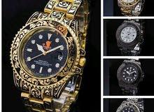 ساعة Rolex منقوشة