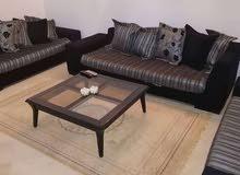 شقة مفروشة متكونة من اثنين غرفة و صالة للايجار باليوم على طريق المرسي في تونس ال