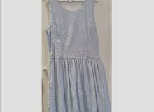 فستان ازرق سماوي قصير مناسب للفتيات
