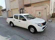للبيع بيكب مستبيشي l200 مديل 2017 وكالة البحرين بحالة الوكاله قاطع 12 الف فقط