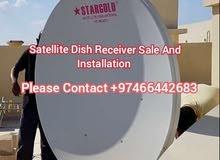 Satellite Dish Receiver Sale And Installation