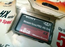 ميموري ستيك برو 8GB لكاميرات السوني فقط