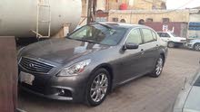 For sale 2013 Grey G37