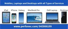 Laptop, Smart Phones and Desktops of Wide Varieties in Dubai, Visit Once,  Perfonec Computer