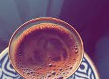 قهوة تركية طازجة مع رغوة