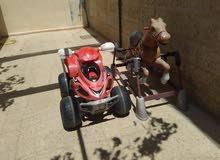 سياره كهربا شحن وحصان زمبرك