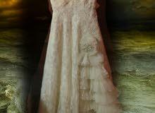 فستان عرس تركي موديل رائع مرغوب جدا مستعمل ثلاث مرات لروعة الموديل