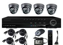 تركيب  : كاميرات مراقبه -أنظمة الإنذار والحرائق - منظومات المبيعات والمخازن منظو