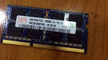 رام Hynix 4GB DDR3 RAM لابتوب