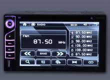 """مسجلة للسيارة DVD PLAYER   شاشة رقمية  6.2""""   ذات ميزات متعددة (bluetooth-Sd car"""