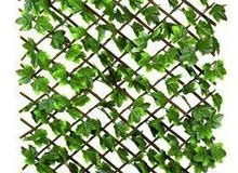 شبك جداري عشب صناعي