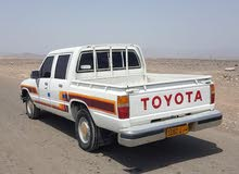 1987 Used Hilux with Manual transmission is available for sale