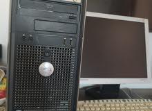 كمبيوتر مكتبي ديل كامل