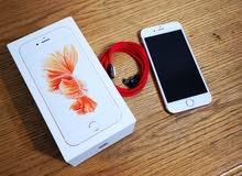 أيفون 6s 16gb روز جولد للبيع أو للبدل